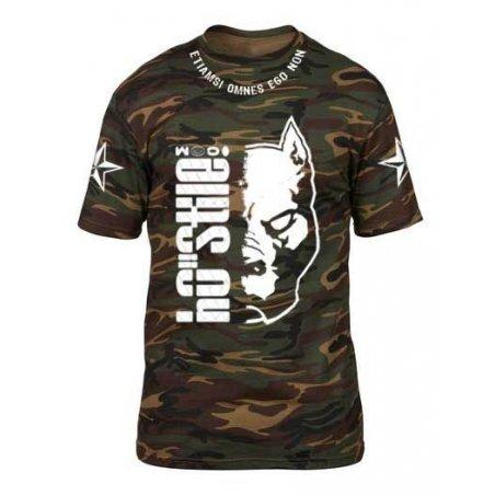T-shirt POWD2 half pit CAMO