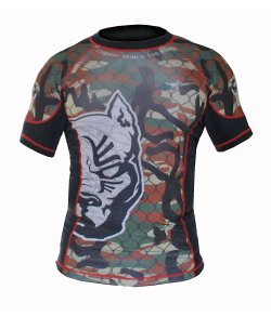 Rash Guard POWD Tattoo CAMO