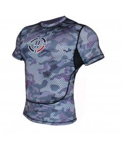 Rash Guard 1s1k U-CAMO short sleeve