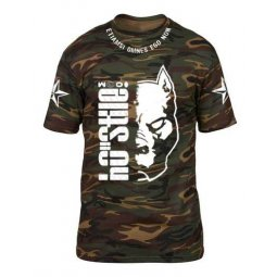 T-shirt POWD II Half Pit - Camouflage