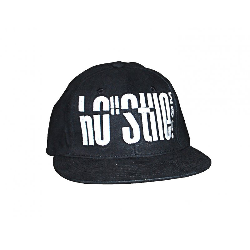 Cappellino hip hop 3D NERO
