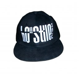 Hip hop Cap 3D BLACK
