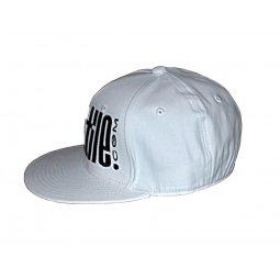 Hip hop Cap 3D WHITE