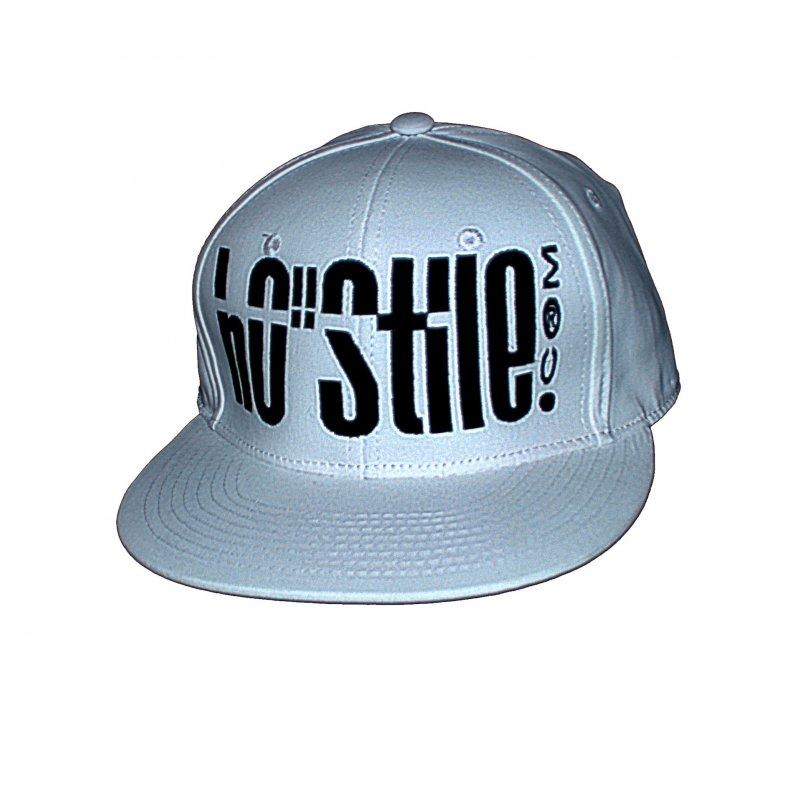 Cappellino hip hop 3D BIANCO
