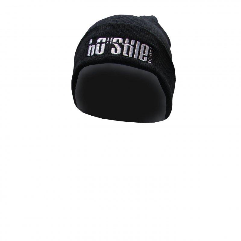 beanie winter cap BLACK