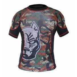 T-shirt Rash Guard POWD Tattoo - Camouflage