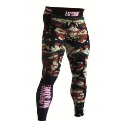 Long pants compression - Camouflage