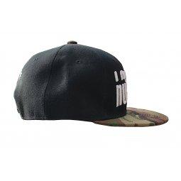 Cappellino Hip Hop BLACK/CAMO 3D
