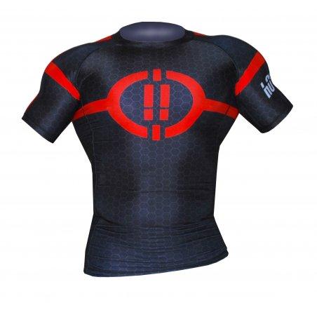 T-shirt Rash Guard 1S1K EXA - Manica corta