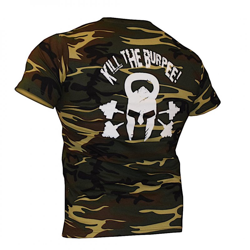 T-shirt Kill the Burpee! 2.0 CAMO