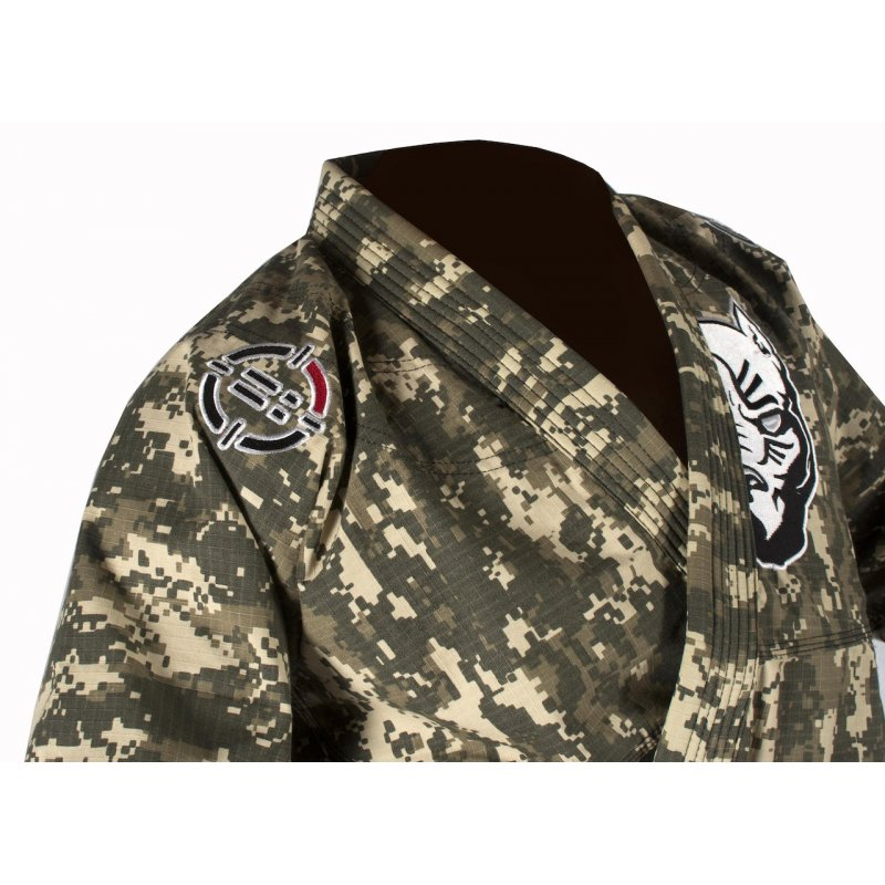 BJJ Gi CAMO Ultra Light