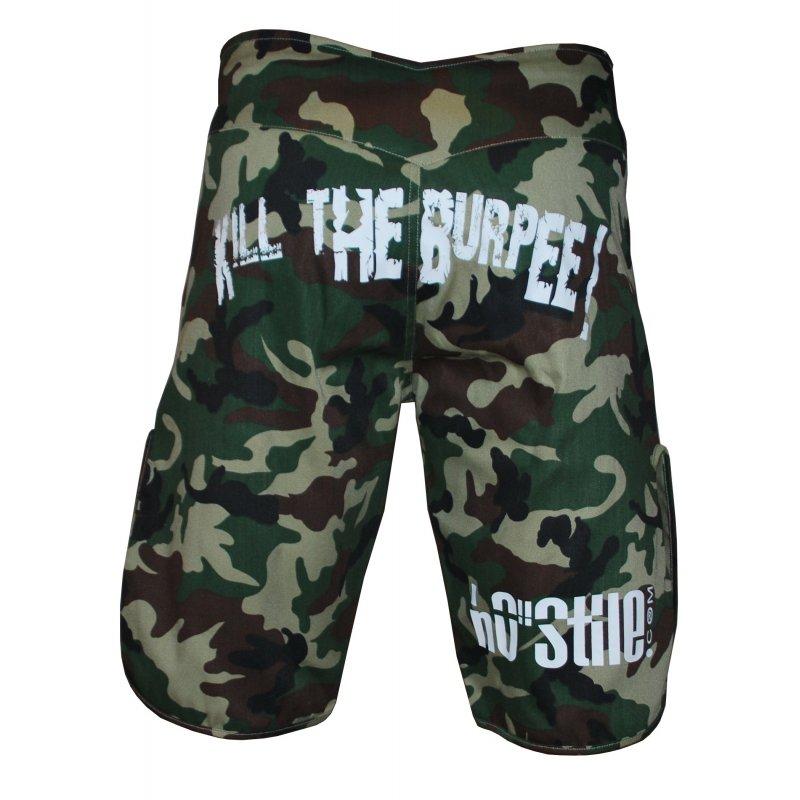 Ho-Stile Shorts Kill The Burpee! CAMO-R