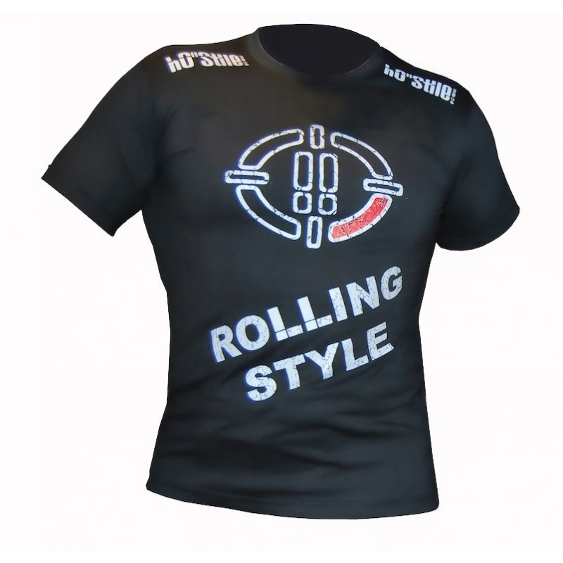 T-shirt Rolling Style