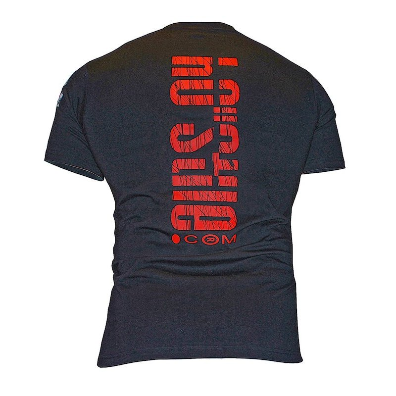 T-shirt Pit bull skull