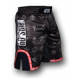 Shorts WiWi microfiber black sublimated