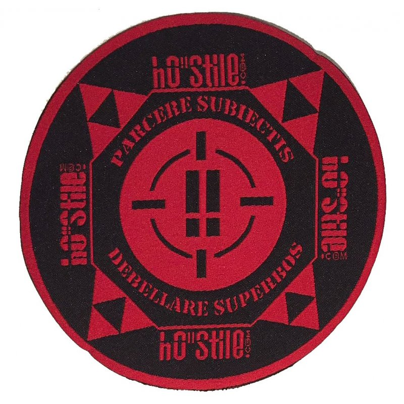 "hO""Stile patch hostile 17 x 7,5 cm"
