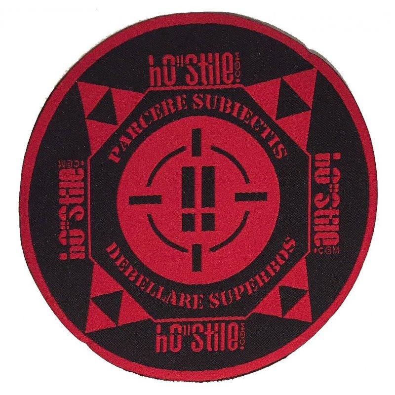 "hO""Stile patch hostile 17 x 7,5 cm"