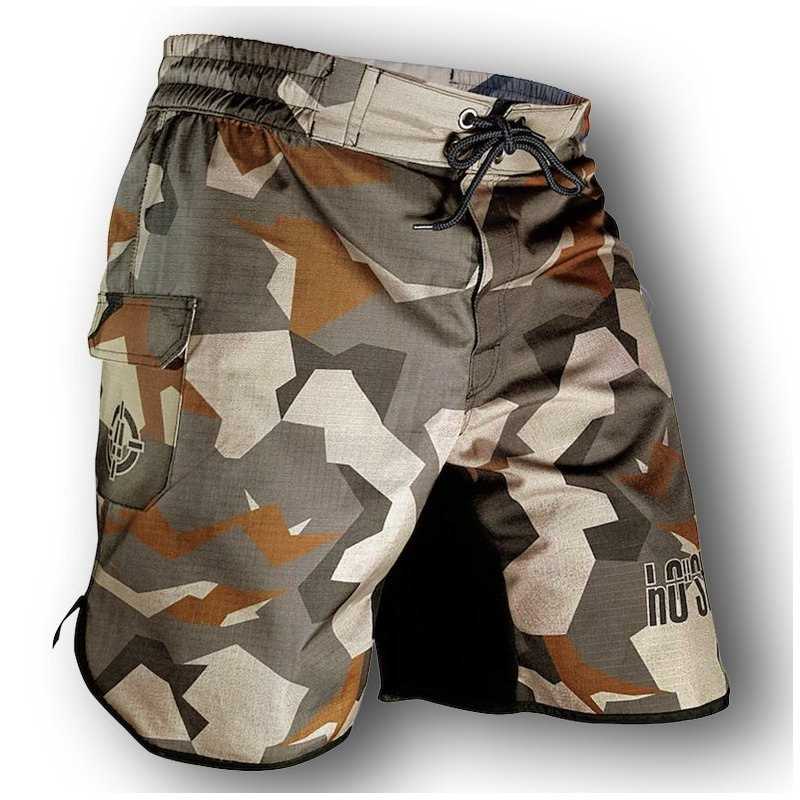 Fight Shorts Hybrid Cargo Rip Stop