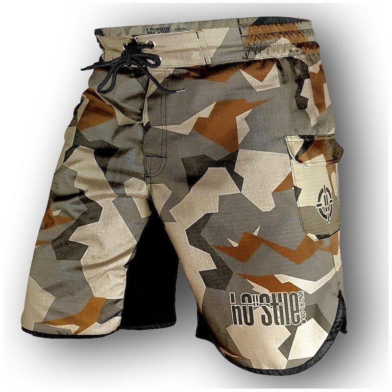 Fight shorts Ibridi Cargo Rip Stop