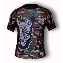 T-shirt Rash Guard POWD Tattoo - Camouflage