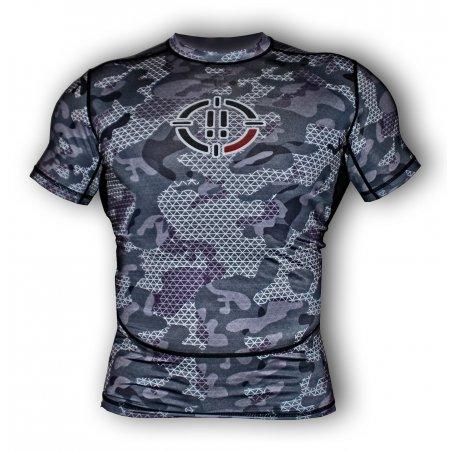 T-shirt Rash Guard 1S1K U-CAMO - Manica corta