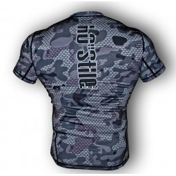 Rash Guard 1s1k U-CAMO short sleeve