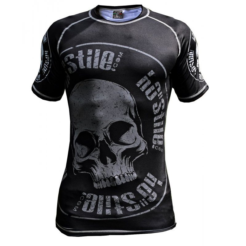 Rash Guard SKULL PARTY short sleeve