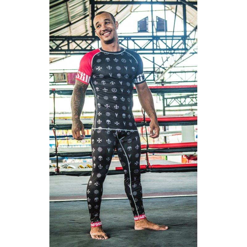 T-shirt Rashy WiWi manica corta ultra traspirante, abbinata ai pantaloni